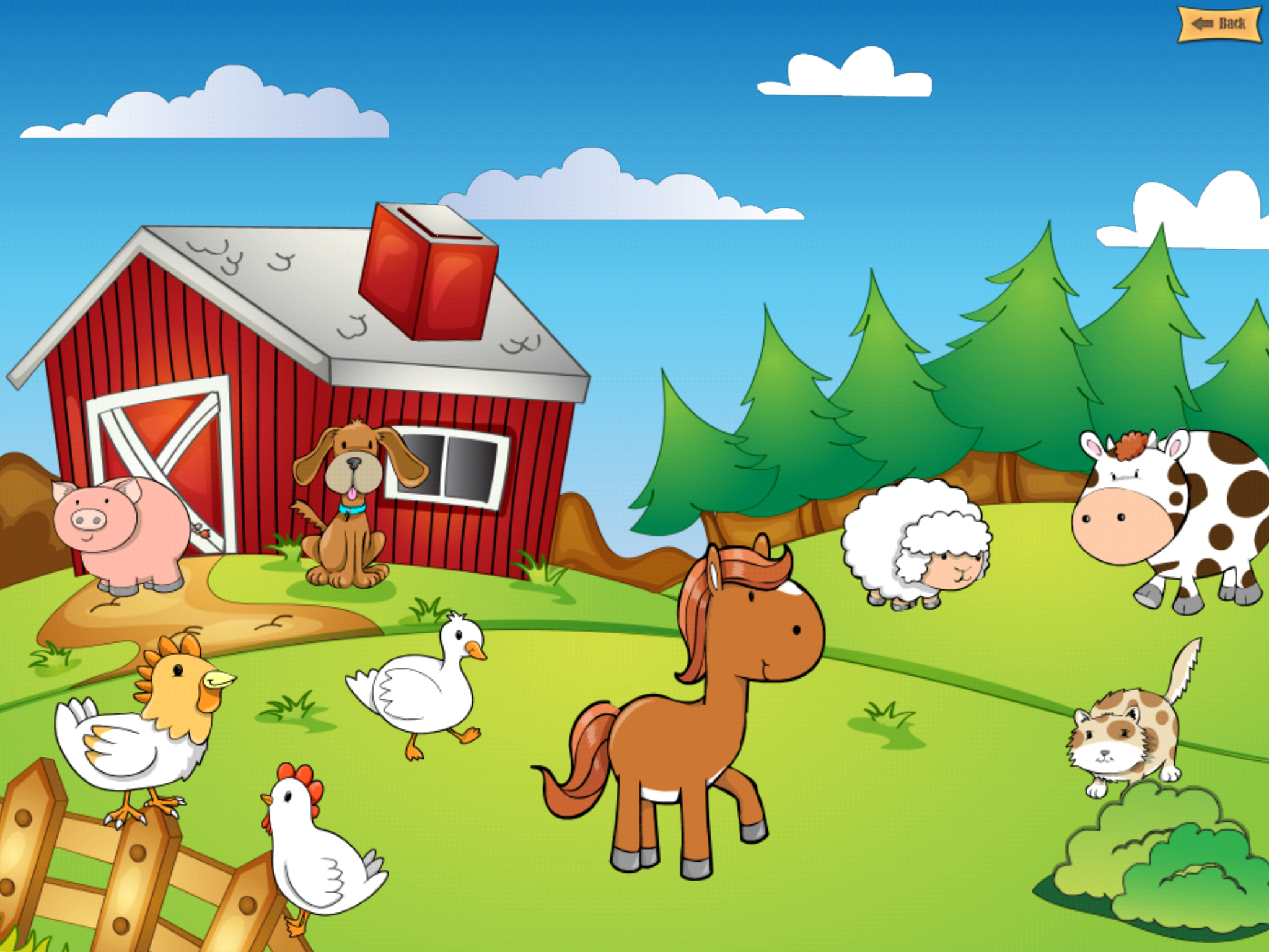 Farm Animals For Kids Animal Sounds for kids...